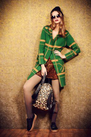 Fot 2 Sukienka + płaszcz net